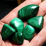 KCASA Natural Polished Gemstone / Natural Opal / Malachite Stones, 6pcs Green 20-30mm