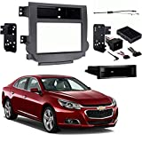 Chevy Malibu 2013-2015 Single or Double DIN Stereo Radio Install Dash Kit