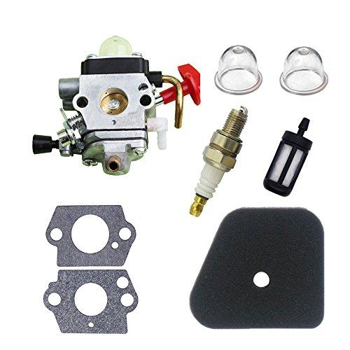 (Savior Carburetor C1Q-S174 with Primer Bulb Gasket Fuel Air Filter Spark Plug for STIHL FS87 FS90 FS100 FS110 FS130 HL90 HL95 HL100 HT100 HT101 KM90 KM100 KM110 SP90 Trimmer Carb 4180-120-0610 )