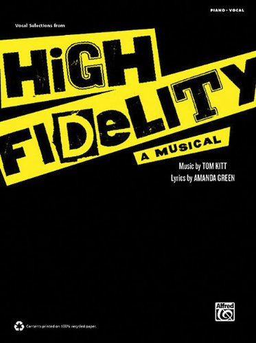 High Fidelity - A Musical: Vocal Selections