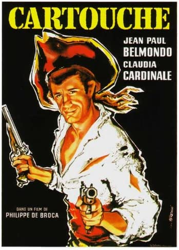 Cartouche Jean Paul Belmondo vintage movie poster print