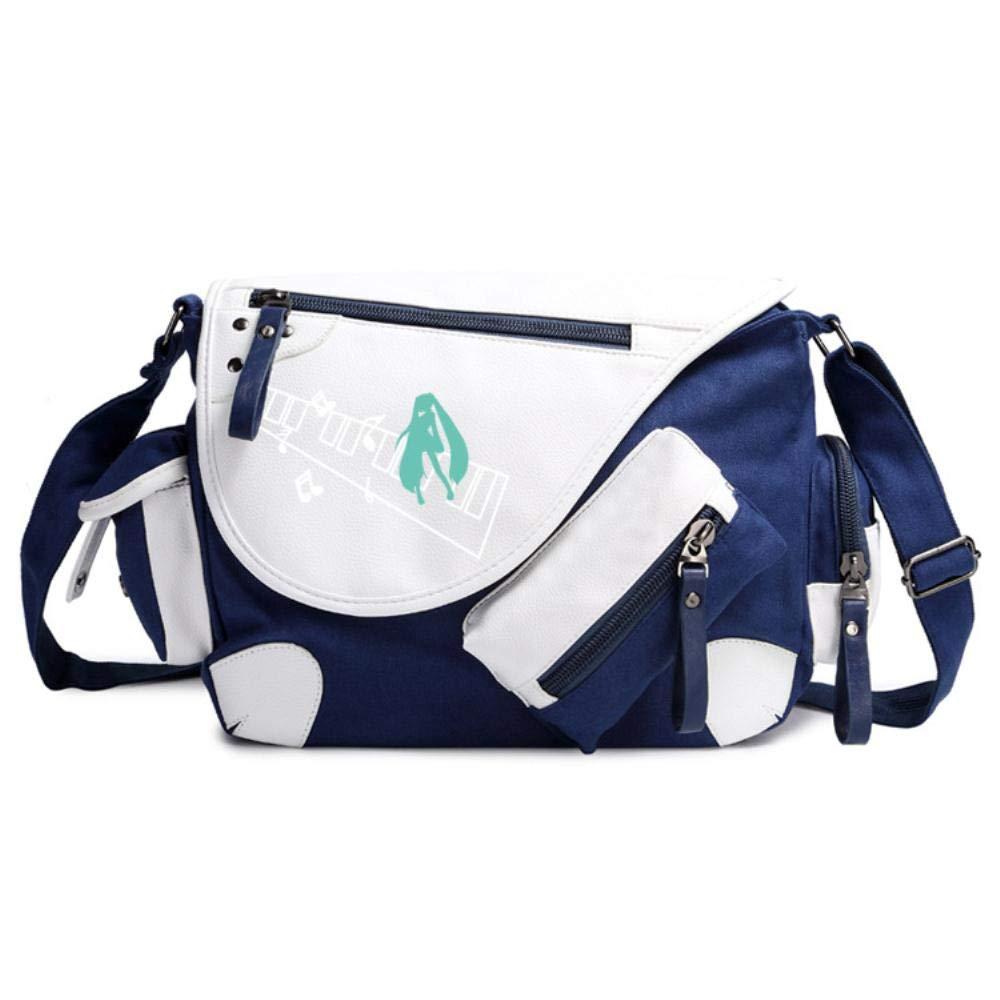 Messenger Bag Backpack Girls Boys Cartoon Shoulder Bags for School Anime Cosplay Rucksack