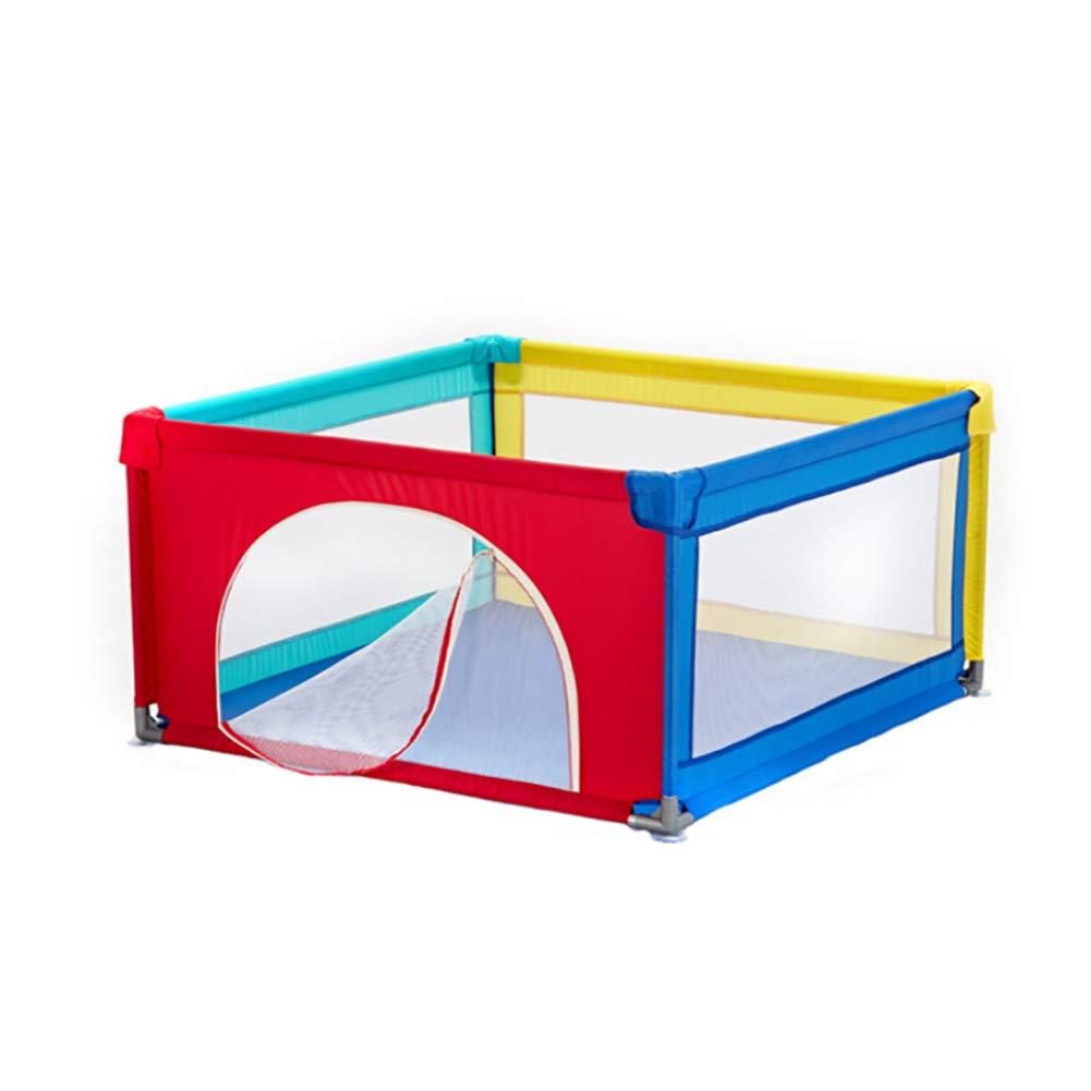 赤ちゃんのPlaypenエクストララージ、ポータブル安全な子供の遊び場幼児や赤ちゃんのための折り畳み式コンパクトベスト6パネルの赤ちゃん再生屋内と屋外用 (色 : Playpen-C)  Playpen-C B07KZTK9PV