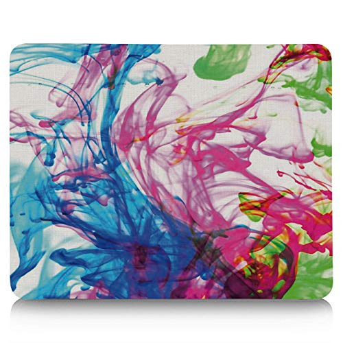 (Gaming Mouse Pad, Colorful Pigments Spread Out in The Water Non-Slip Rubber Base Mousepad Rectangle Mouse Mat for Laptop, Computers, Office & Home)