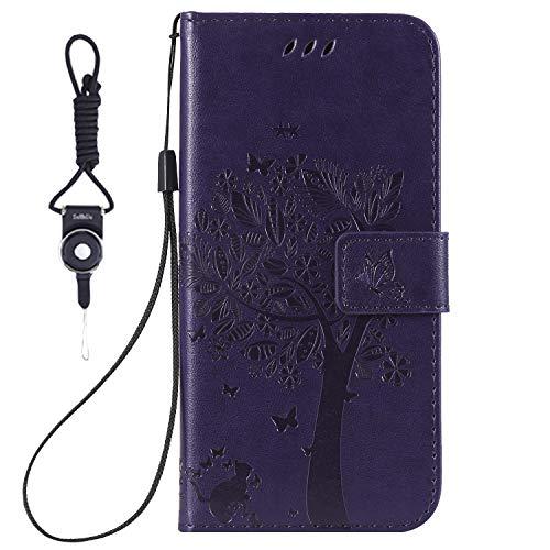 9608aad60f3 Samsung Galaxy S3 Case, SsHhUu Premium PU Leather Folio Wallet Magnetic  Stand Credit Card Slot
