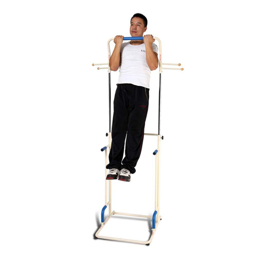 Klimmzugstangen Abdominal Arm Hanging Straps Gürtel Pull Up Crunch Sling Einstellbare Workout Power Tower Roman Stuhl (Farbe   Weiß, Größe   132  17.5  35cm)
