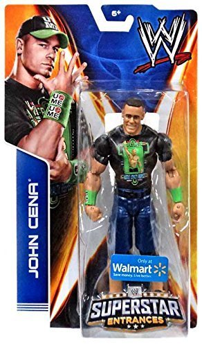 Mattel WWE Wrestling 2014 Exclusive Superstar Entrances Action Figure John Cena [Never Give Up T-Shirt] by Mattel Toys