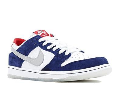Nike Men's DUNK LOW PRO IW QS, DEEP ROYAL BLUE/MTLLC SILVER-UNIVERSITY