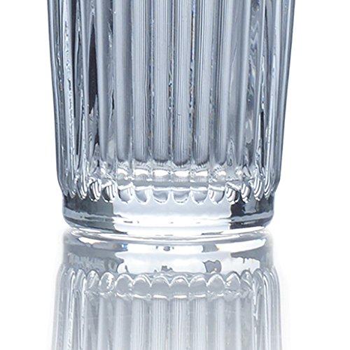 Mikasa Italian Countryside Highball Glass, Clear, 12-Ounce, Set of 4 by Mikasa (Image #3)