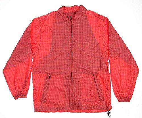 New Womens Sun Mountain Provisional Rain Suit Medium M Red/Black