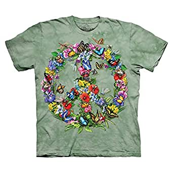 The Mountain Green Round Neck T-Shirt For Men