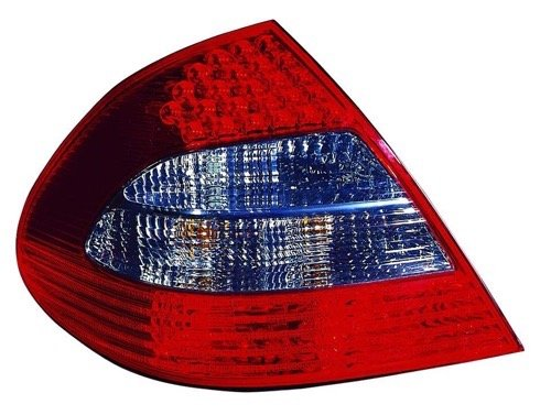(Go-Parts » OE Replacement for 2007-2009 Mercedes-Benz E350 Rear Tail Light Lamp Assembly/Lens/Cover - Left (Driver) Side 211 820 25 64 MB2800122 for Mercedes-Benz E350)