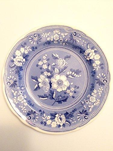 Spode Archival Blue Room Botanical Salad Plate