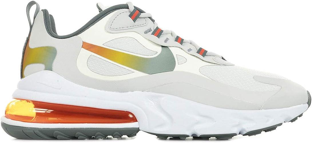 Nike Men's AIR MAX 270 React SE Running Shoe, Summit White ...