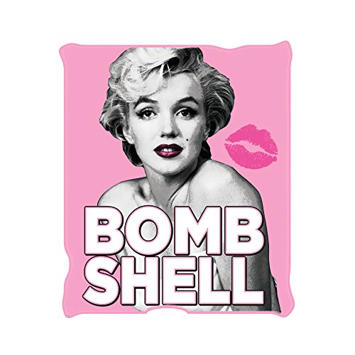 Silver Buffalo MR9921 Marilyn Monroe Bomb Shell Fleece Throw Blanket, 50 x 60 inches