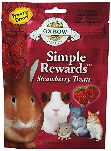 Oxbow SIMPLE REWARDS STRAWBERRY Small Animal Treat 0.5 oz