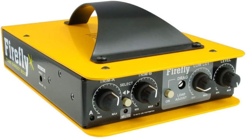Radial Engineering Firefly Tube DI, dual input w/ class-A front end and transformer isolated output