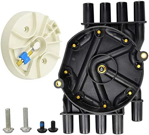 DR474 DR331 Distributor Cap and Rotor Kit for Chevrolet GMC Isuzu 5.0L 5.7L V8