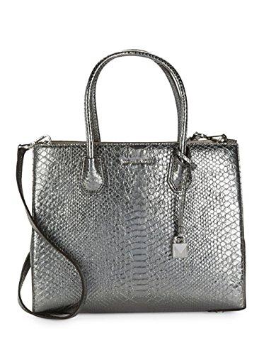 Michael Kors Pewter Handbag - 4
