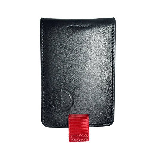 Men's wallet, Lemontec Super Slim Genuine Leather RFID Blocking Wallet and Money Clip (Slim Leather Super)