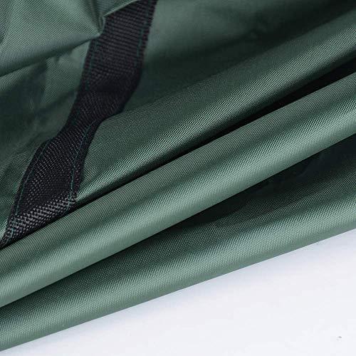 BUONDAC Bolsa Impermeable de Almacenamiento para Cojines o Fundas de Muebles Jardin 124x39x58cm