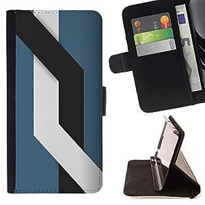 Momo Phone Case / Flip Funda de Cuero Case Cover - Líneas;;;;;;;; - Sony Xperia M4 Aqua