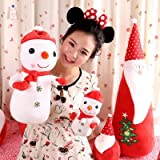 FYUE Creative Christmas Gift Doll Snowman Pillow Toy