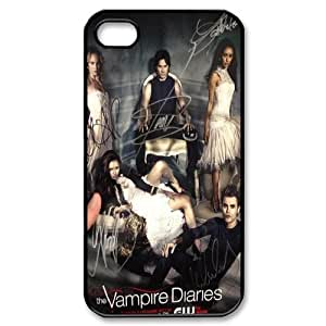LISHUANGSHUANG Phone case Style-1 -The Vampire Diaries Pattern Protective Case For Iphone 4 4S case cover