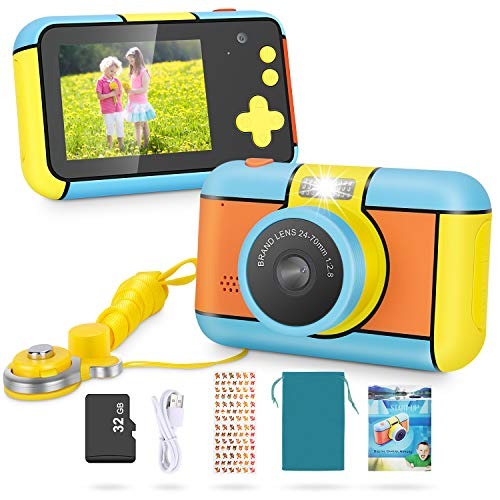 Kids Camera - MagicFun 24MP Kid Digital Camera Gifts For Age 3 4 5 6 7 8 9 10 Years Old Boys Girls, 1080P 2.4