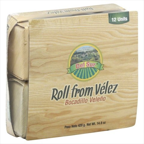 Del Sur 14.8 oz. Roll Velez, Case Of 12