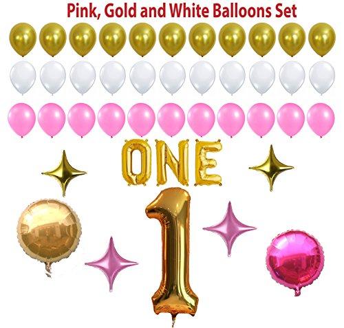 1st Birthday Party Balloon Kit