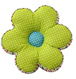 Floral-shaped Padded Chair Cushion Pad Stuffed Backrest Throw Pillow Doll Play Toy LivebyCare Filled Reading Seat Back Cushions Insert Filling for Study Room Sofa Couch
