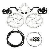 Lixada MTB Bike Disc Left Right Brake Kit Hand Brake Lever Shifter Derailleur Cable Shift Inner Wire Set