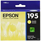 Epson T195420-AL Cartucho de Tinta No. 195 para XP-101/XP-201 Clr, amarillo