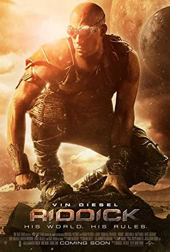 Amazon.com: Movie Posters Riddick - 27 x 40: Posters & Prints