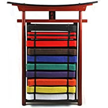 Ace Martial Arts Supply Wall 10 Levels Mountable Belt Display