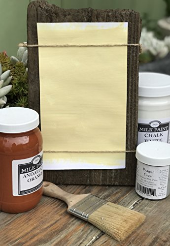 Sinopia All Natural Artisanal Milk Paint Lisbon Yellow (16oz.)