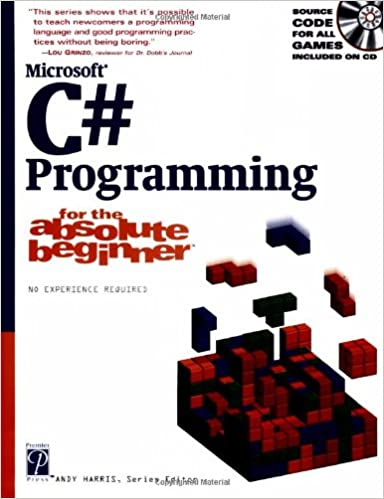 Amazon com: Microsoft C# Programming: For the Absolute