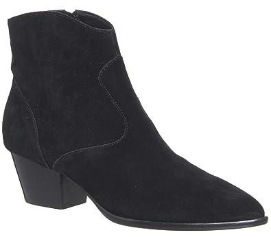 Neueste ASH Stiefelette Leder schwarz Damen