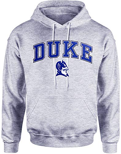 Duke Hoodie Sweatshirt Blue Devils Decal Basketball Jersey Womens Mens Apparel (Medium) ()