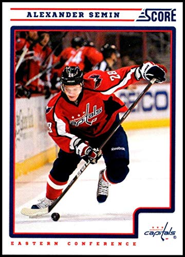 2012-13 Panini Score #466 Alexander Semin NM-MT Washington Capitals Officially Licensed NHL Hockey Trading Card ()