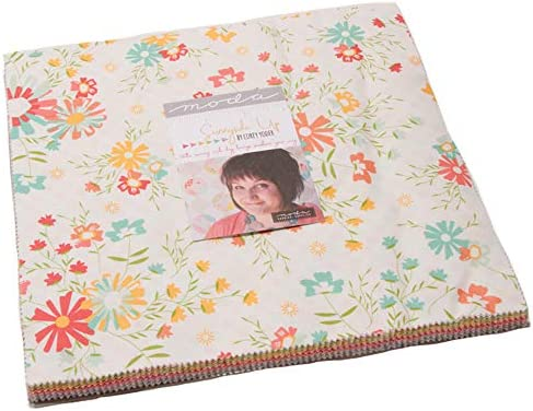 Quilten Met Layer Cakes Jelly Rolls En Charm Packs.Sunnyside Up Layer Cake 42 10 Precut Fabric Quilt Squares By Corey Yoder