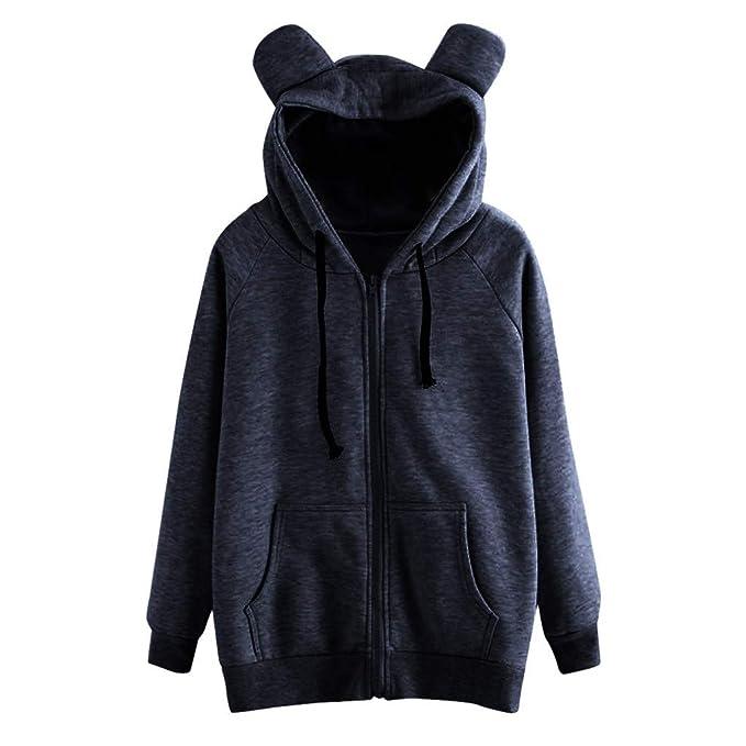 Giacca donna nera elegante corta maniche lunghe zip maglia