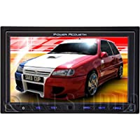 POWER ACOUSTIK PD-762 Double-DIN Multimedia Receiver with Motorized 7-Inch High Definition LCD Touchscreen