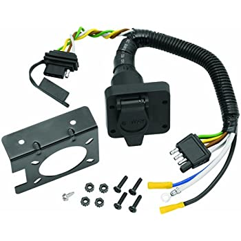 Amazon.com: Tow Ready 20143 6-Way Round Pin Connector/4-Flat Combo on 6 pin throttle body, 6 pin voltage regulator, 6 pin ignition switch, 6 pin wiring diagram, 6 pin housing, 6 pin wire plug, wiring harness, 6 pin cable, 6 pin power supply, 6 pin power cord, 6 pin transformer,