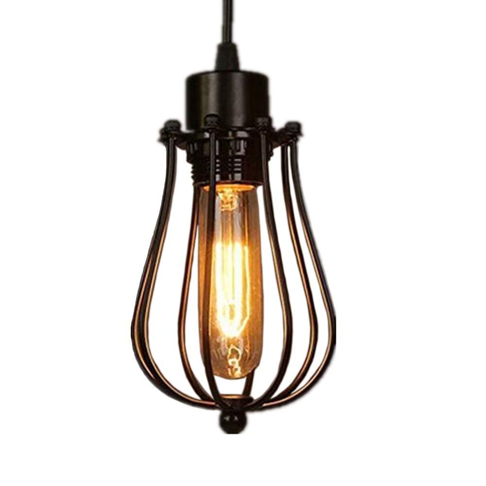 Retro Vintage Colgante de Luz E27 - Estilo industrial Iluminación Colgante, Moderna Lámpara de Techo para Loft Jardín Restaurante Coffee Bar ...