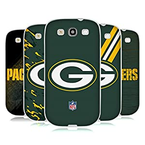 Official NFL Green Bay Packers Logo Soft Gel Case for Samsung Galaxy S3 III I9300
