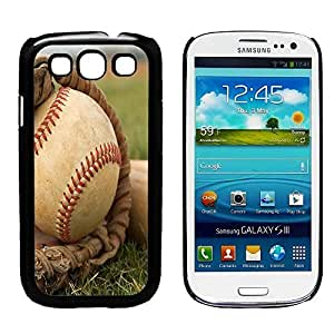 BaseBall and Glove Galaxy S3 Phone Case