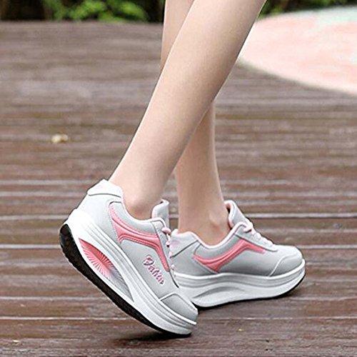Sandale Compensées Sneakers Été Chaussures Casual Ups Shape Baskets Femme Sport Travail Respirantes tPgP0q