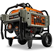Generac 5934, 6500 Running Watts/8125 Starting Watts, Gas Powered Portable Generator